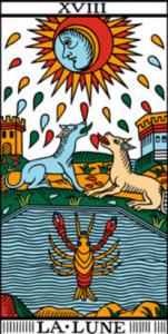 carta tarot la luna
