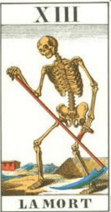 carta la muerte