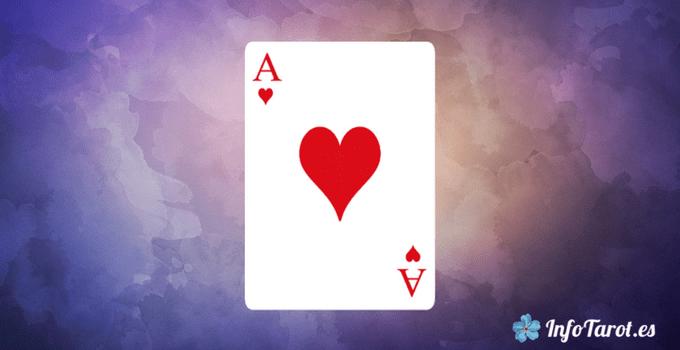 significado de cartas corazones